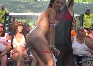 Nude college party pics